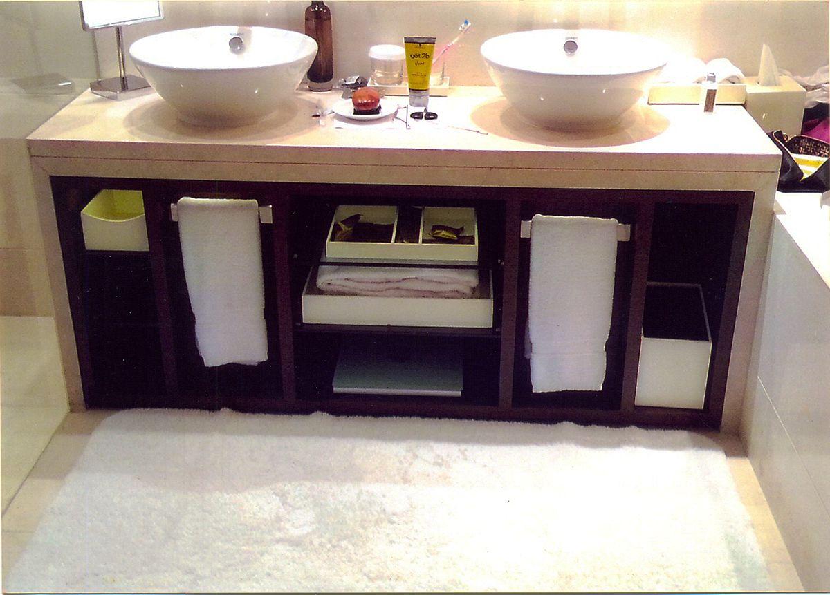 Extra Ordinary bathroom design and bathroom counters