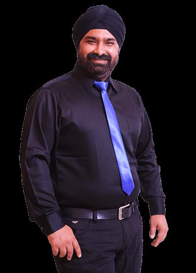 portraight photograph of Mr. Guneet singh