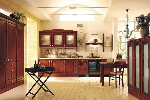 Modular Kitchen with appliances and built by Florence Homes