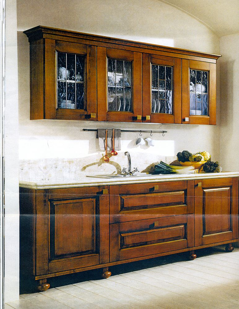 Italian kitchen imported from Italy and built by Florence Homes