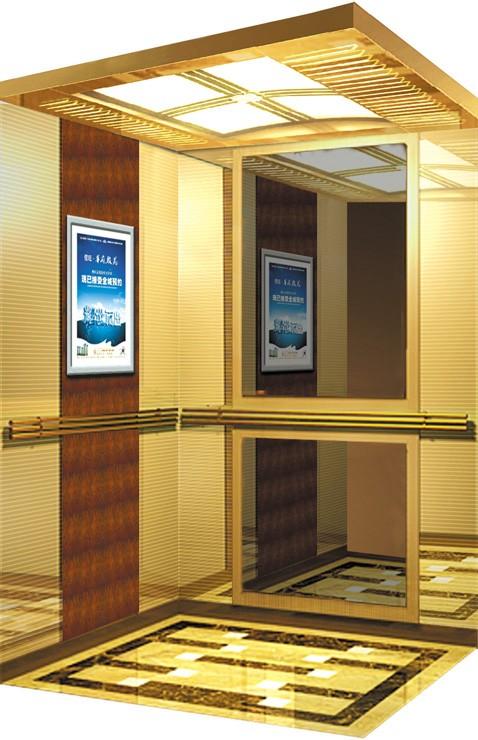 """Imported high standard 10-14 passenger lift """"gearless & noiseless"""