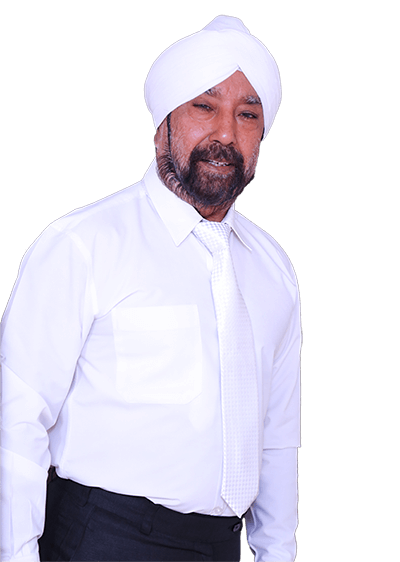portraight photograph of Mr. Surjit singh who is the owner of Florence Homes
